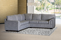 Corner Lounge Suite, Valentino Light Grey
