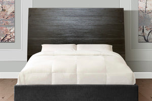 Headboard, Justine Black Double Bed