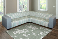 Corner Lounge Suite, Miami Basics Chenille Grey