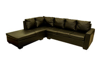 Brown L shape corner couch Philadelphia
