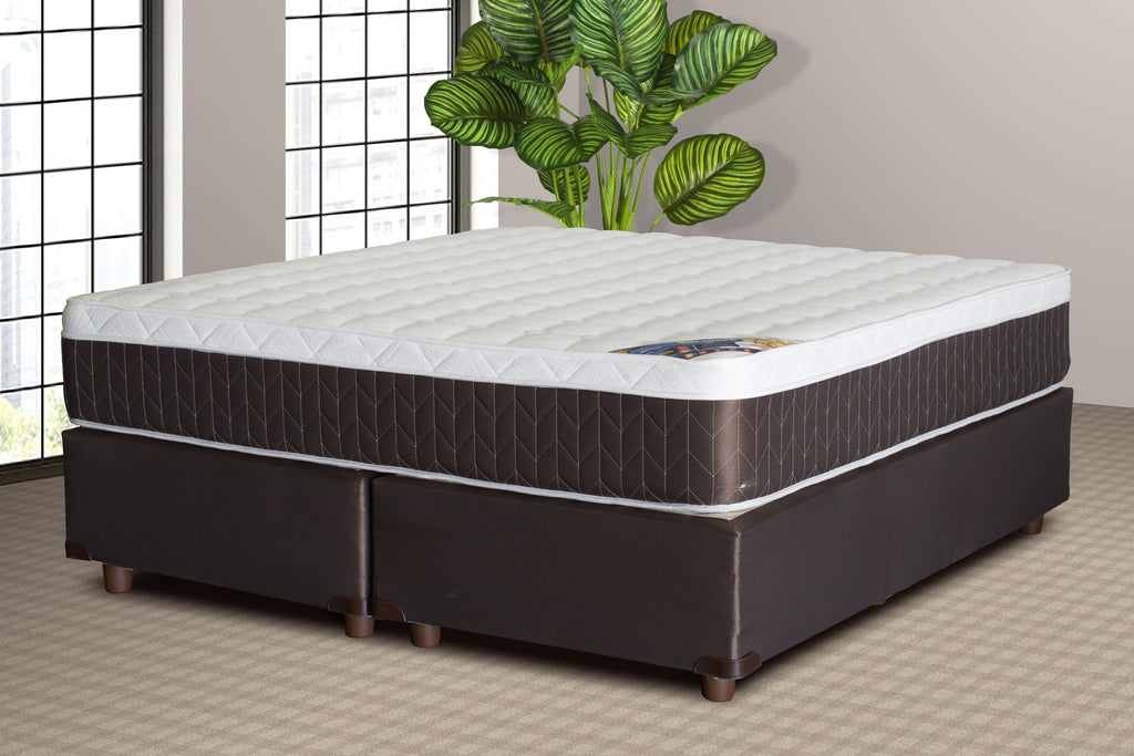 Bed & Base Set, Supreme Comfort King Bed