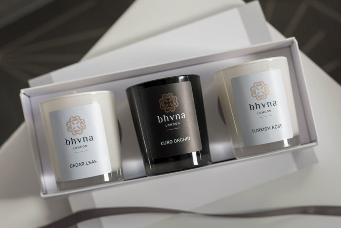 Triple Candle Gift Box - BHVNA