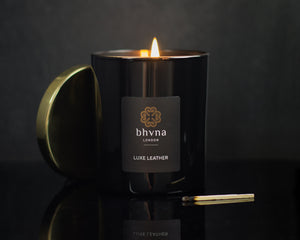 Luxe Leather Candle - BHVNA