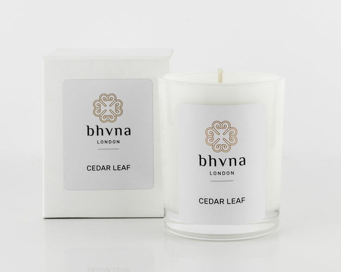 Cedar Leaf Travel Candle - BHVNA