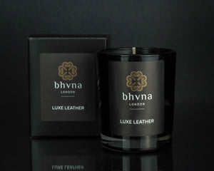 Luxe Leather Travel Candle - BHVNA