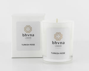 Turkish Rose Travel Candle - BHVNA