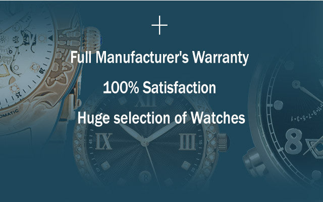 Full Manufacturer's Warranty