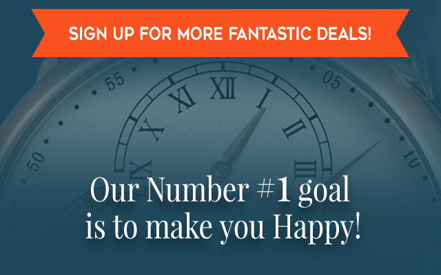 Our Number 1 goal is to make you happy