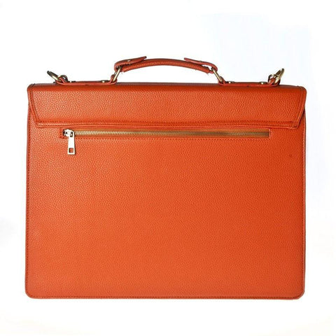 Hero Briefcase McKinley Series 545org Better Than Leather HROB545ORG