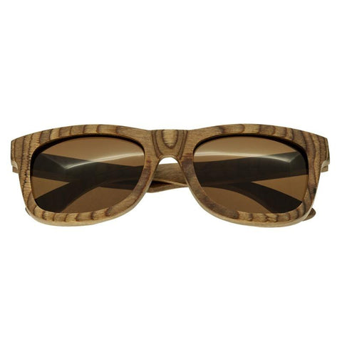 Spectrum Cipes Wood Polarized Sunglasses - Brown/Brown SSGS102BN