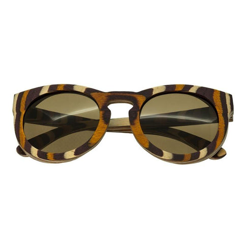 Spectrum Powers Wood Polarized Sunglasses - Multi/Brown SSGS123BN