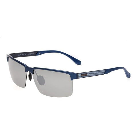 Breed Xenon Titanium Polarized Sunglasses - Blue/Black BSG040BL