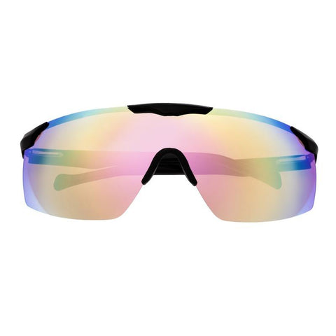 Sixty One Shore Polarized Sunglasses - Black/Red-Rainbow SIXS131BL