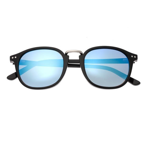 Sixty One Champagne Polarized Sunglasses - Black/Blue SIXS133BL
