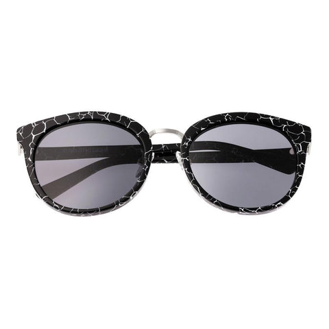 Bertha Lucy Polarized Sunglasses - Black Marble/Black BRSBR022SB