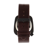 Simplify The 6800 Leather-Band Watch - Black/Brown SIM6805