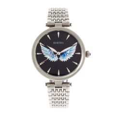 Bertha Micah Bracelet Watch - Silver