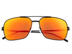 Sixty One Teewah Polarized Sunglasses - Black/Red-Yellow
