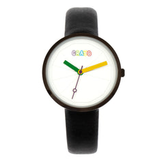 Crayo Metric Unisex Watch - Black