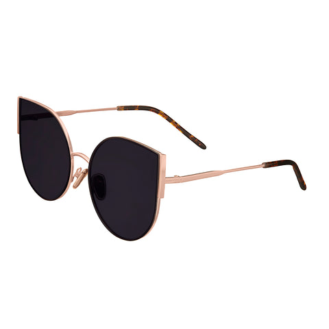 Bertha Logan Polarized Sunglasses - Rose Gold/Black BRSBR036RG