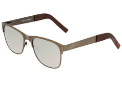 Breed Hypnos Titanium Polarized Sunglasses - Bronze/Silver