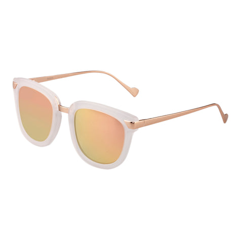 Bertha Arianna Polarized Sunglasses - Clear/Brown BRSBR043CR