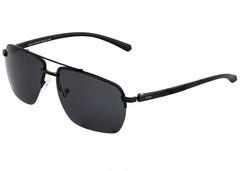 Simplify Lennox Polarized Sunglasses - Black/Black