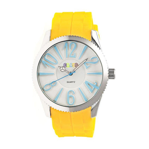 Crayo Magnificent Ladies Watch - Yellow CRACR2903