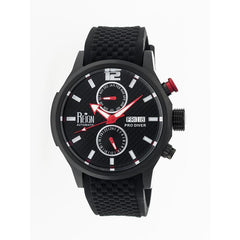 Reign Capetain Automatic Watch w/Day/Date - Black