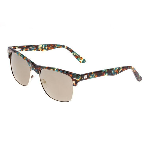 Sixty One Waipio Polarized Sunglasses - Blue Tortoise/Bronze SIXS136BR