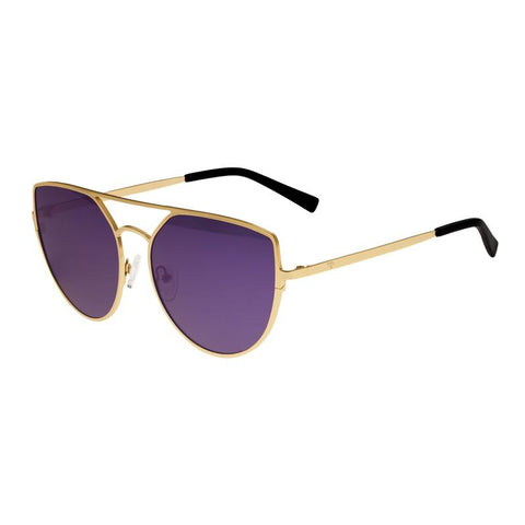 Sixty One Boar Polarized Sunglasses - Gold/Purple SIXS144PU