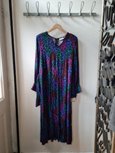 Belted Patterned Dress- Small