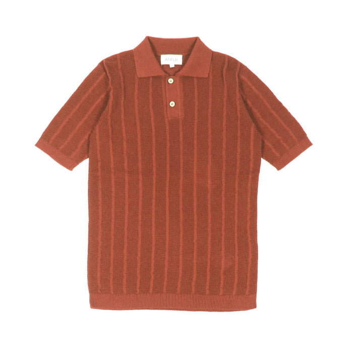 Knitted Short Sleeved Polo - Brushetta
