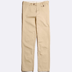 Cotton Twill Trousers - Pumice Stone