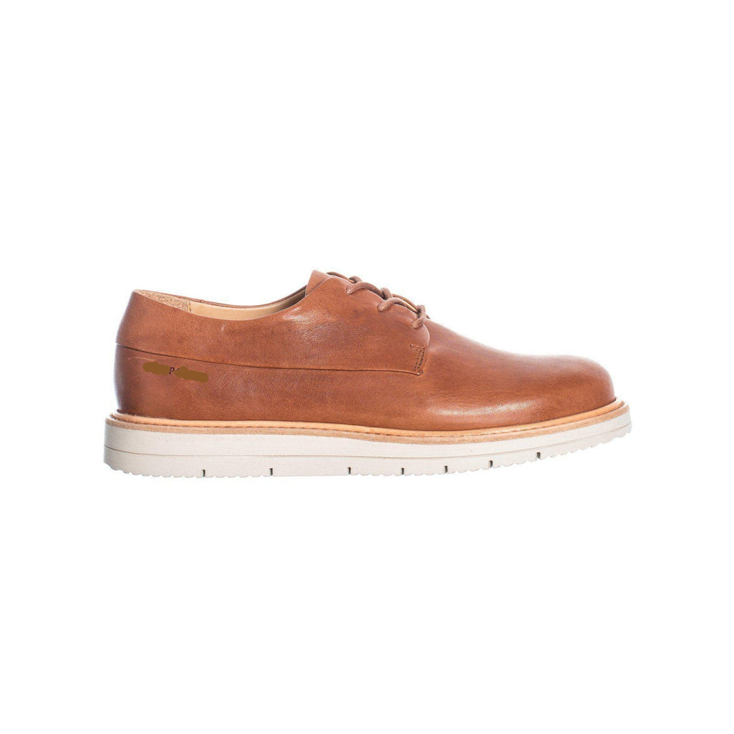 Laced Shoes - Cognac