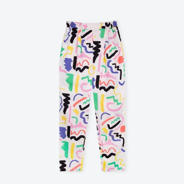 Summer Trousers - White