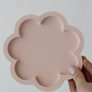 Scalloped Tray - Pink