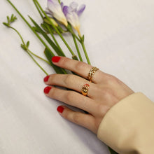 Yellow Gold Plated Hand Ring