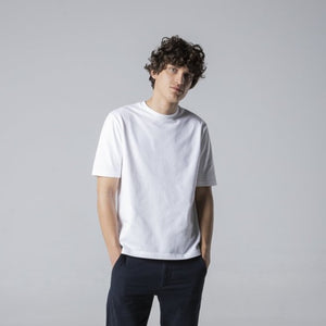 Basic Cotton T-Shirt - White