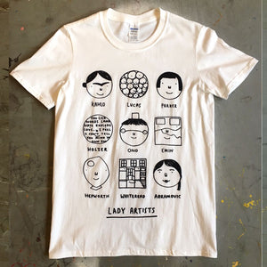 Lady Artists Tshirt
