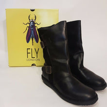 Classic Fly London Leather Boots - Size 36