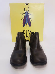 Fly London Leather Shoe Boots - 39