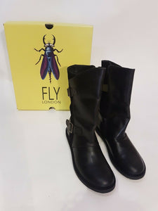 Classic Fly London Leather Boots - 40