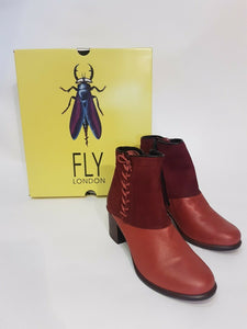 Fly London Leather Boots - 36
