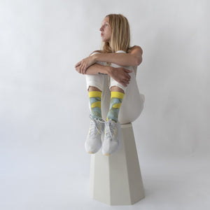 Algue Jaune Fluo Socks