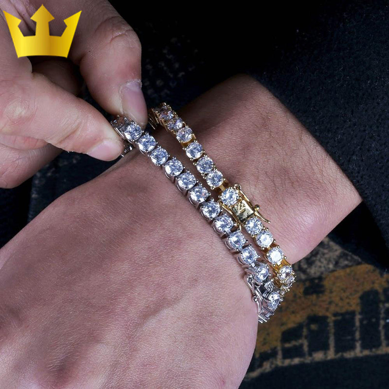 ICED OUT AAA+ Cubic Zirconia Tennis Bracelet - MajesticVUE