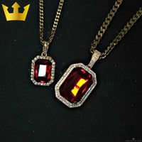 18K GOLD, BLOOD RUBY. - MAJESTICVUE