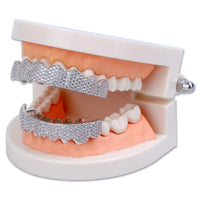 Iced Out Hip Hop Teeth Grillz - MajesticVUE