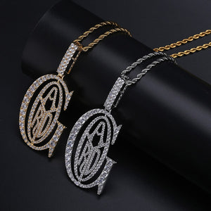 Hip Hop  Rapper Tyga G ICE OUT Pendant