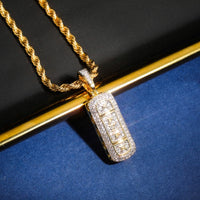 Hip Hop  Iced Out Pendant